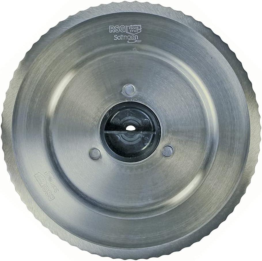 DL-pro Cuchilla especial para Bosch Siemens 12012078, disco de corte redondo, filo ondulado para máquina de cortar pan MAS MS