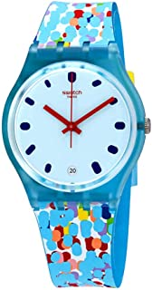 Swatch Prikket Quartz Movement Blue Dial Ladies Watch GS401