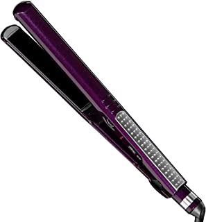 INFINITIPRO BY CONAIR Tourmaline Ceramic Flat Iron, 1-inch, Purple