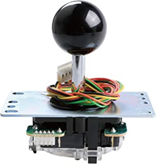 SANWA JLF-TP-8YT Joystick Black Original - for Arcade Jamma Game 4 & 8 Way Adjustable, Compatible with Catz Mad SF4 Tourna...