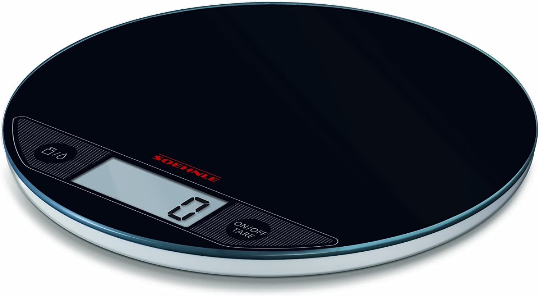 Soehnle Daily bargain sale Flip Digital Black Scale Kitchen Detroit Mall