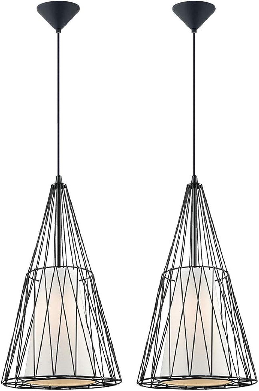 2er Set LED Decken Hnge Lampen Wohn Schlaf Zimmer Beleuchtung Retro Filament Pendel Leuchten