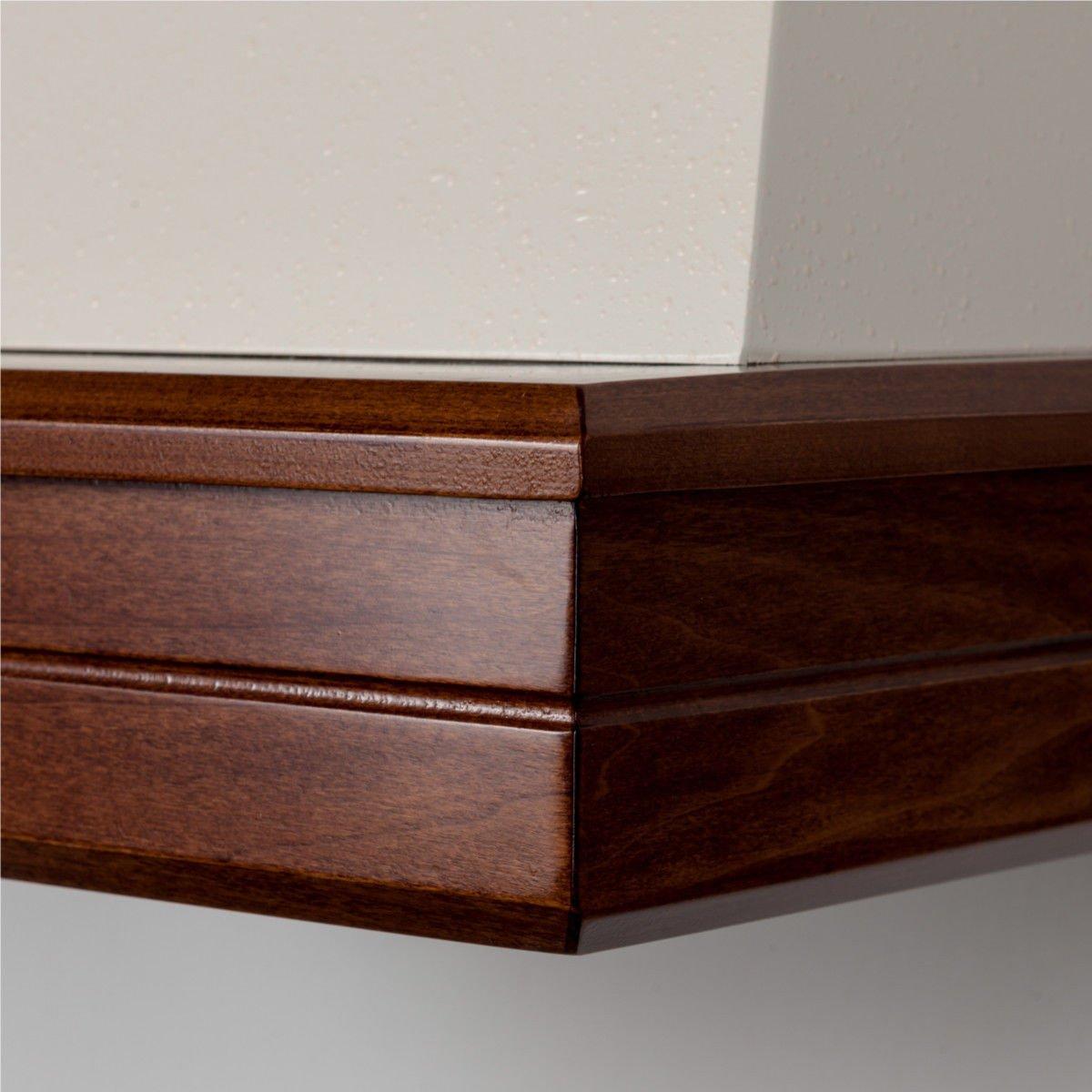 Campana Cocina Rústica madera Mod.Stock 60 de pared, Cono Crema, motor B52 Noce Classico: Amazon.es: Hogar