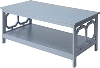 Convenience Concepts Omega Coffee Table, Gray