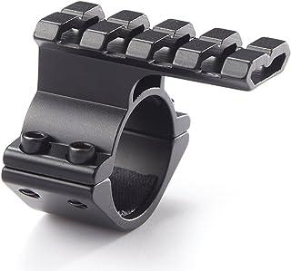 NcDe Tactical Barrel Clamp Mount With Rail For 12 Gauge Shotguns And Magazine Tubes Fits Remington 870 1100 11-87 SP-10 Mossberg 500 835 Maverick 88Winchetser 1300