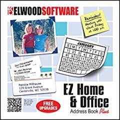 Address book software for home and business (WINDOWS 10, 8, 7, Vista, and XP. Not for Macs). Three printable address book formats. SORT by FIRST or LAST NAME. GREAT for PRINTING LABELS! Print colorful labels with clip art or pictures on many common A...