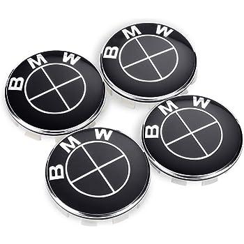 BMW Wheel Center Caps Emblem,68mm BMW Rim Center Hub Caps for All Models with BMW Wheels Logo Blue /& White Color OSIRCAT Set of 4