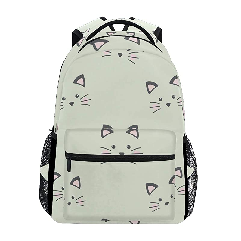 ステレオタイプ最大の剛性マキク(MAKIKU) リュック レディース 軽量 リュックサック 大容量 高校生 A4 中学生 小学生 通学 猫柄 かわいい