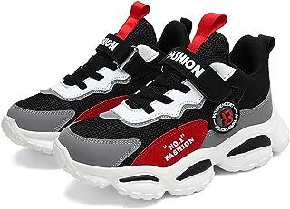 Daclay Chaussures pour Enfants, Chaussures de Sport pour Enfants, Chaussures de Course pour étudiants à Semelles Souples