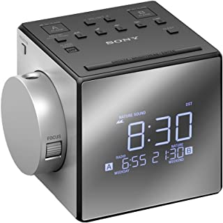 Sony 索尼 收音机闹钟 带时间投影仪 型号 ICF-C1PJ