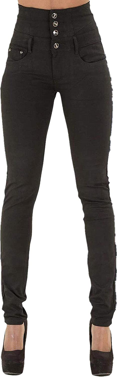 GALMINT Women's High Waisted ButtLifting Slim Stretch Jegging Denim Skinny Jeans