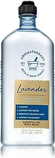 Bath and Body Works Lavender Essential Oil Shower Gel 10 oz.