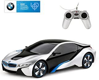 RASTAR BMW i8 RC Car BMW i8 1/24 Remote Control Car, 2019 BMW Toy Car - Silver