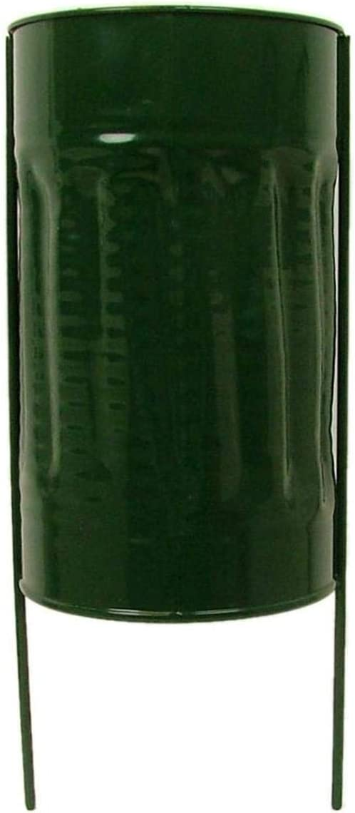 Panacea Memorial Supplies Beauty products Cemetery Vase 4 x in. Store Green Metal 7