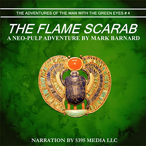 The Flame Scarab audiobook cover art