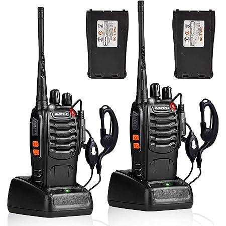 トランシーバー 無線機 充電式 2W 超長距離タイプ 携帯型簡単操作 総務省技術基準適合商品【日本語説明書付き】