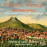 Paradisus Musicus (Motetten, geistliche Konzerte und deutsche Lieder) - Orlando di Lasso Ensemble