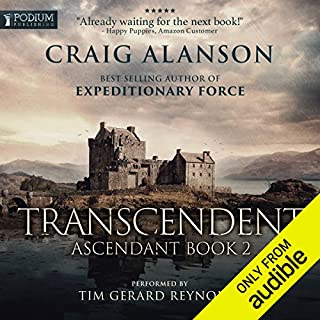 Transcendent     Ascendant, Book 2              By:                                                                                                                                 Craig Alanson                               Narrated by:                                                                                                                                 Tim Gerard Reynolds                      Length: 16 hrs and 10 mins     8,301 ratings     Overall 4.7