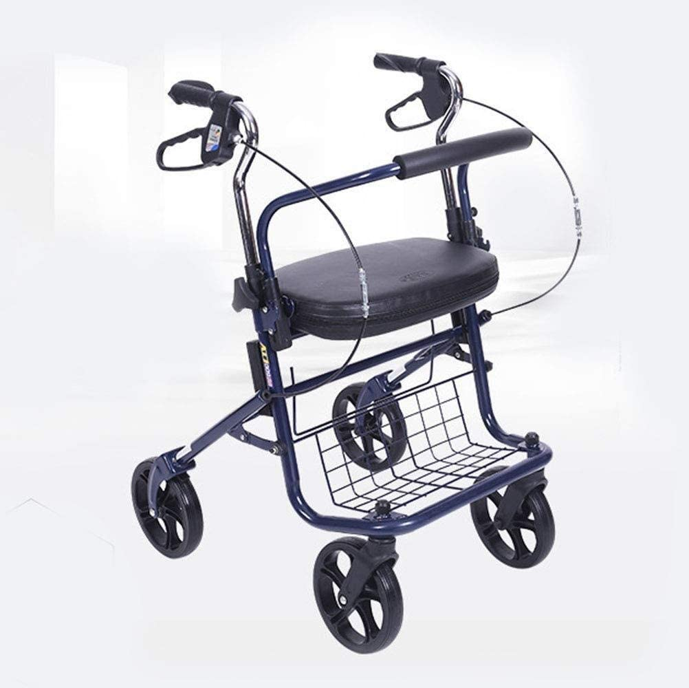 ZKAIAI Wheelchair,Elderly Care Lightweight Chicago Mall Folding Challenge the lowest price of Japan Wheelchairs