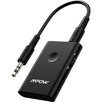 Mpow Transmetteur Bluetooth 5.0 Emetteur et Récepteur 2 en 1