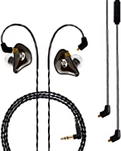 BASN Professional in-Ear Monitor Headphones for Singers Drummers Musicians with MMCX..
