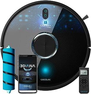 Cecotec Robot Aspirador y Fregasuelos Conga 7090 Al. Inteligencia Artificial, Tecnología Láser, 10000 Pa, Room Assist, Cep...