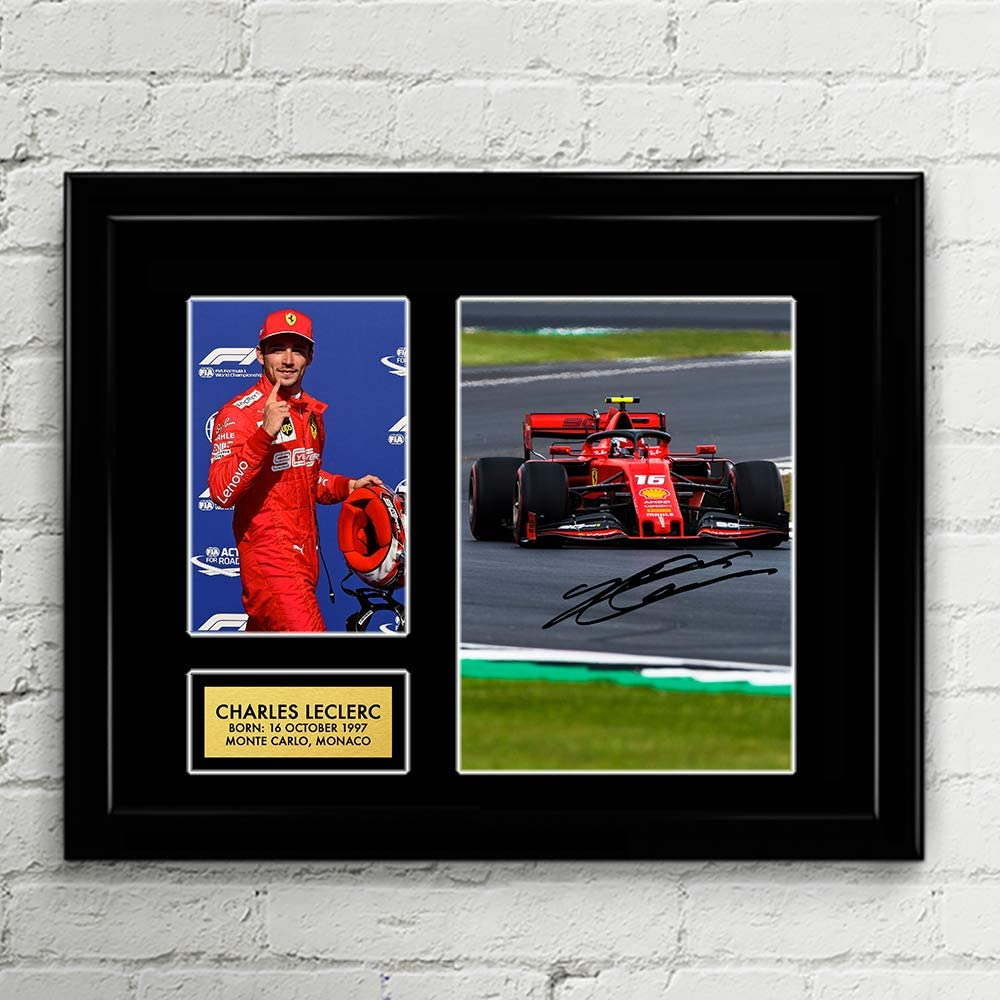 Charles Leclerc Ferrari Formula One Special price for a limited time F1 Racing Autographed Surprise price Signed