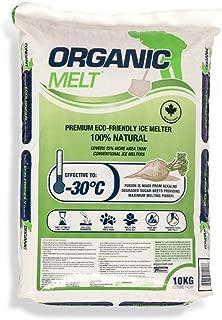 Organic Melt Premium Granular Ice Melt Eco. Friendly, Pet Friendly, Driveway and Sidewalk Safe 10kg Bag (22 lbs) (1)