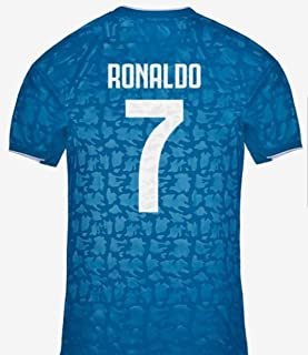 Soccer Juventus Third Blue Azul Ronaldo Men's Jersey Regular Fit 2019