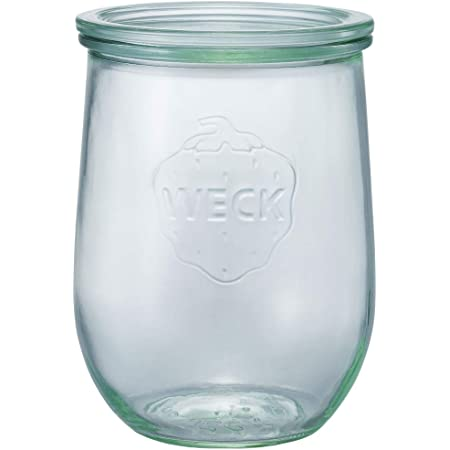 WECK ガラス保存容器 チューリップシェイプ 1.0L WE-745