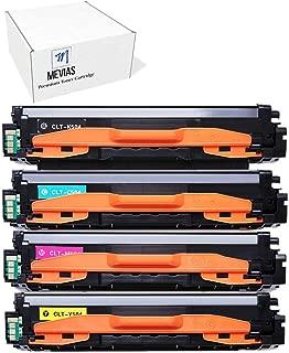 Mevias Premium Compatible CLT-504S 4 Pack (1 Black 1 Cyan 1 Magenta 1 Yellow) K504s C504s M504s Y504s Color Toner Cartridges for Samsung CLP-415NW CLP-4195FW CLX-4195FN CLX-4195FW SL-C1810W SL-C1860FW