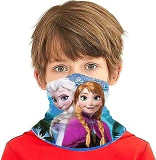 قناع الوجه أولاف فروزن واقي للأولاد والبنات أزياء متنوعة وشاح رأس بالاكلافا للمراهقات