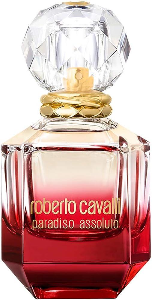 Roberto cavalli paradiso assoluto,eau de parfum per donna,50 ml 3614222793458