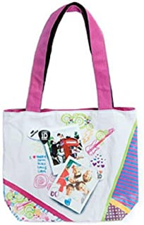 "One Direction 1d Band ""Telephone Booth"" Harry, Niall, Liam, Louis, Zahn Tote Bag Pocketbook"