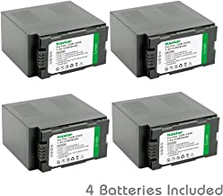 Kastar Battery (4-Pack) for Panasonic CGR-D54S, CGA-D54S, VSK0581 work with Panasonic AG-3DA1, AG-AC90, AG-DVC30, AG-DVC32, AG-DVC33, AG-DVC60, AG-DVC62, AG-DVC63, AG-DVC80, AG-DVC180, AG-DVX100, AG-DVX102, AG-HPX170, AG-HPX250, AG-HPX255, AG-HVX200, AJ-PCS060G, AJ-PX270PJ, HDC-Z10000, NV-DS29, NV-DS30, NV-DS50, NV-GX7, NV-MX5, NV-MX350, NV-MX500, NV-MX1000, NV-MX2500, NV-MX5000, AG-HRX200
