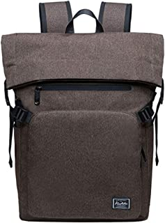 Laptop Backpack, Simple Large Capacity Middle School/College Student Bag Fashion Outdoor Casual Travel Knapsack 31x11x45cm(12.2x4.3x17.7inches)