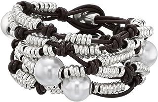 Bracciale Unode50 Perlas Del Desierto PUL0954MARMTL0M Acciaio Perle
