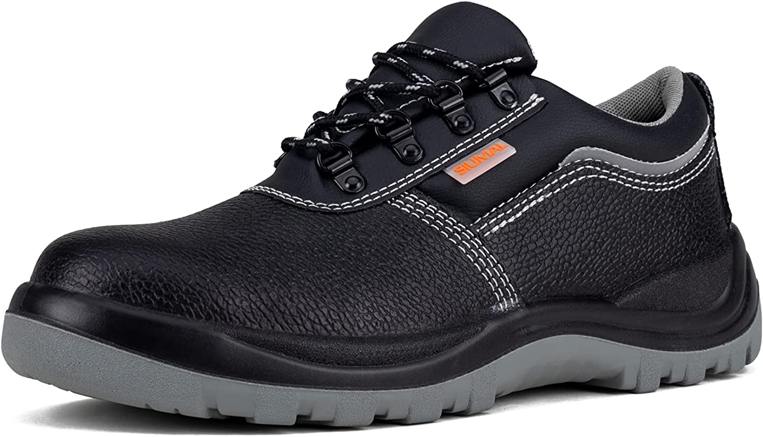 Safety Shoes for Men Composite Toe Breathable Stab-Resistant Safety Work Shoes Non-Slip