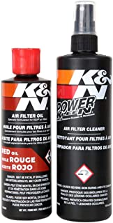 Best K&N Air Filter Cleaning Kit: Aerosol Filter Cleaner and Oil Kit; Restores Engine Air Filter Performance; Service Kit-99-5000 Review
