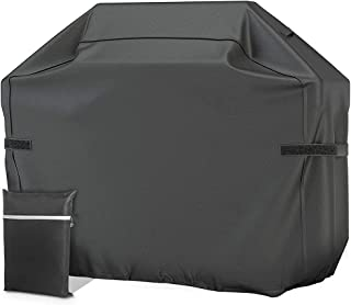 BBQ Grill Cover Waterproof 420D Heavy-Duty Gas Grill Cover UV Resistant Barbecue Cover Rip Resistant