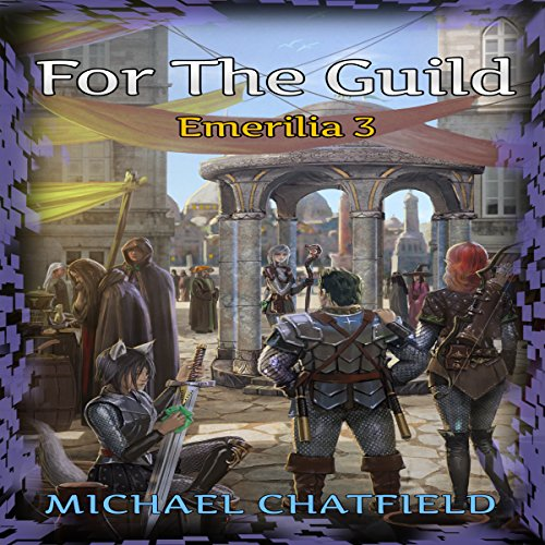 For the Guild audiobook cover art