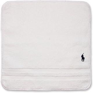 ラルフローレン 【RALPH LAUREN】 パイル地 大判ハンドタオル カラーを選択,5ソリッド(WH)5 ソリッド(ホワイト)