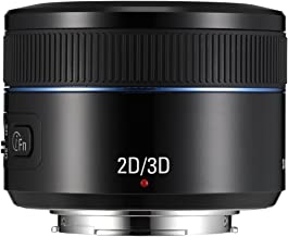 Samsung NX 45mm f/1.8 2D/3D Camera Lens (Black)