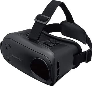 グリーンハウス VRゴーグル 3.5-6.5インチのスマホ/ARコンテンツ対応 ブラック GH-VRHC-BK