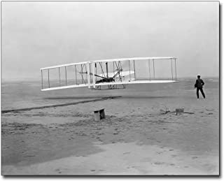 Wright Brothers Kitty Hawk 1st Flight 1903 11x14 Museum Silver Halide Photo Print