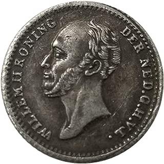 シルバーコインアンティークコレクション外国米国1848ハーフセント銀のドルの真鍮銀は銀のコインを記念貨幣をコピーメッキ