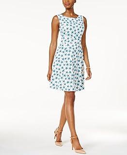 ناين ويست فستان لل نساء مقاس S , متعدد الالوان - فساتين عملية كاجوال