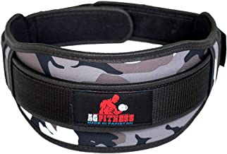 Gym Weight Lifting Belt Fitness Exercise Heavy Workout Back Support Camouflage L
