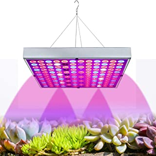 Grow Lights for Indoor Plants, Full Spectrum Panel Plant Light with IR & UV LEDs for Seedlings, Micro Greens, Clones, Succulents,Veg