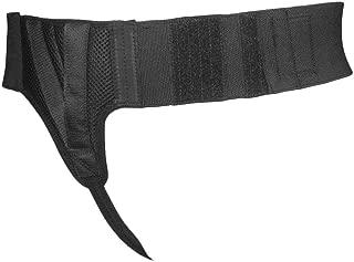 Right Side Hernia Belt Support Truss for Men | Adjustable straps Inguinal Groin Brace with Compression Pads, Medium